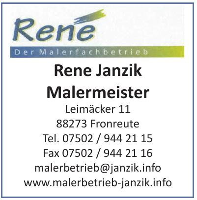Rene Janzik Malermeister