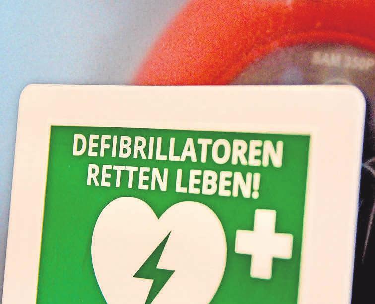 Effektiv: Der Automatisierte Externe Defibrillator (AED) der Björn Steiger Stiftung im Dorfgemeinschaftshaus Bredenbeck. Fotos (2): Johanniter/Schwarzenberger