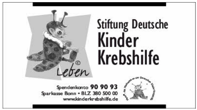 Stiftung Deutsche Kinder Krebshilfe