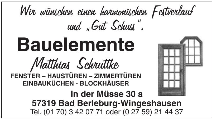 Bauelemente Matthias Schruttke