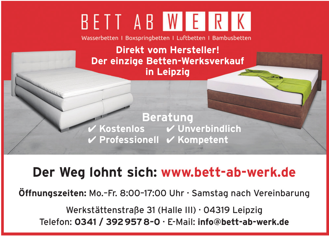 BETT AB WERK