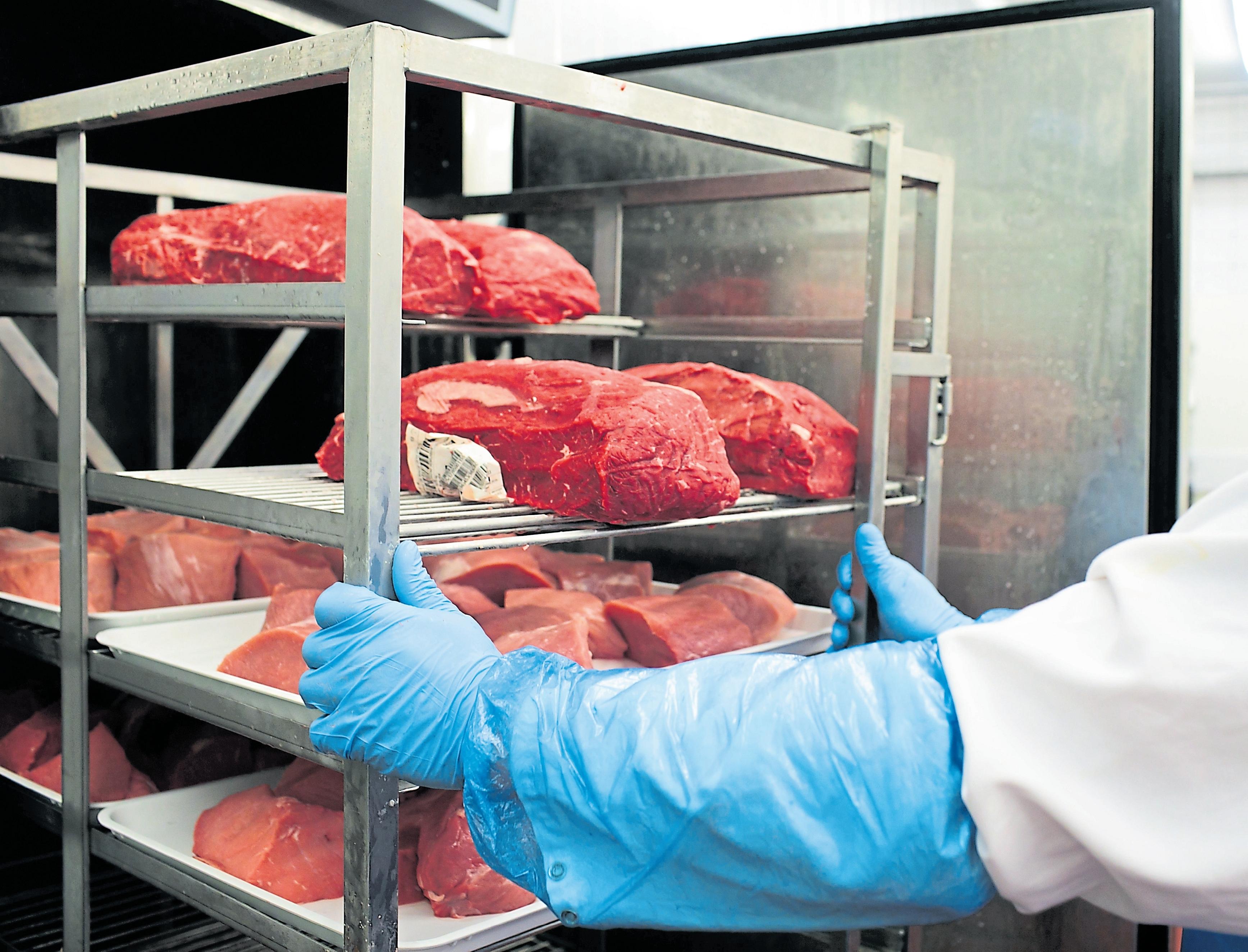 Jedes Stück Rindfleisch lässt sich zu jeder Zeit per Barcode zu dem jeweiligen Tier sowie dem Erzeuger zurückverfolgen.