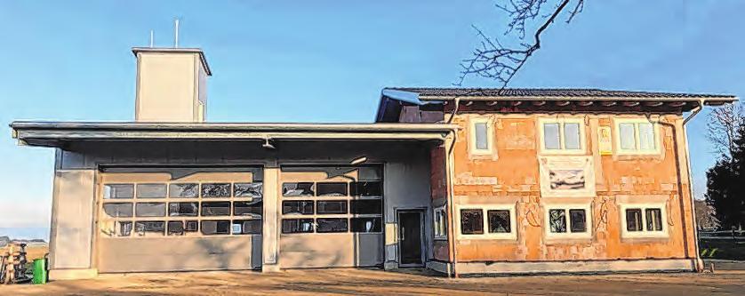 Die neue Wohnanlage und das gemeinsame Feuerwehrhaus werden im Jahr 2022 fertiggestellt. Fotos: Wohnbau Hausruckviertel, Gemeinde Hohenzell