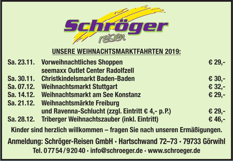 Schröger-Reisen