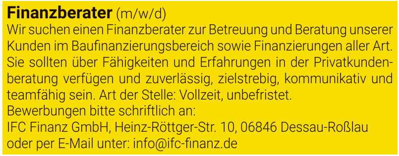 IFC Finanz GmbH