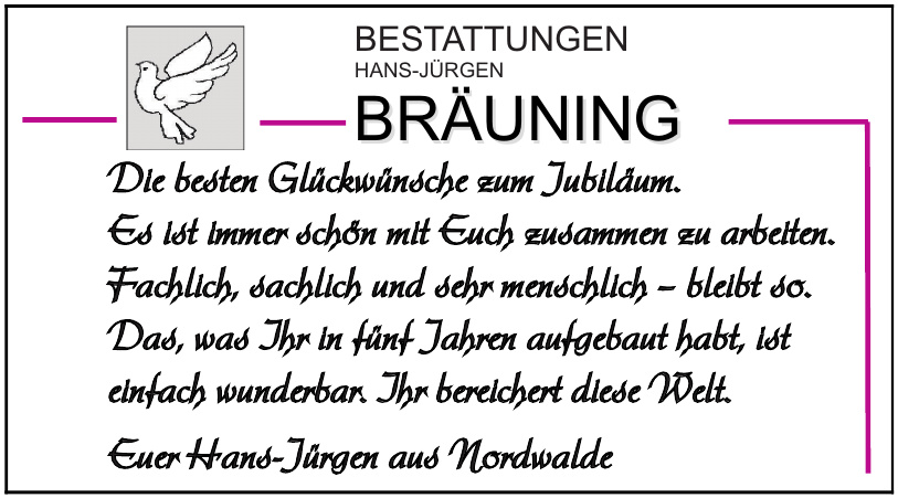 Bestattungen Hans-Jürgen Bräuning