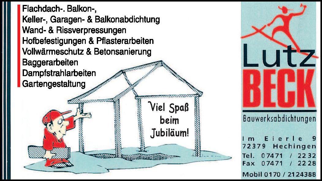 Lutz Вeck Bauwerksabdichtungen