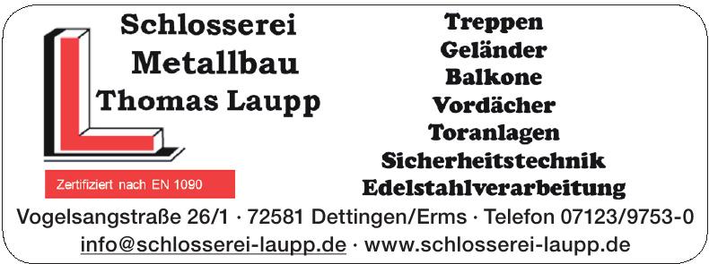 Schlosserei Metallbau Thomas Laupp