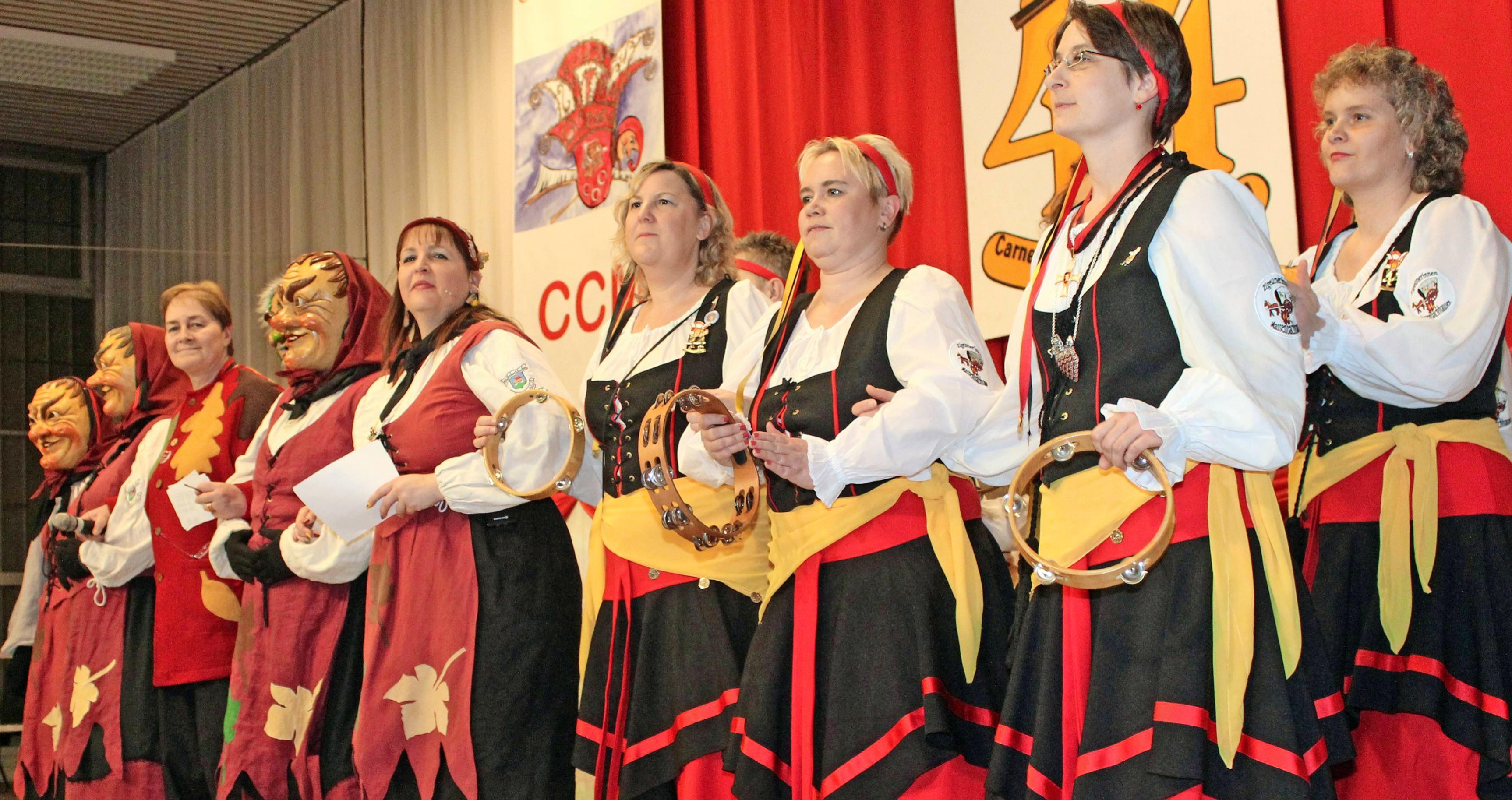 Massenbachhausener sind Zigeuner: Der Spitzname stand auch Pate für eine Brauchtumsgruppe des Carnevalclubs, die 1973 ins Leben gerufen wurde. Foto: Archiv/Muth