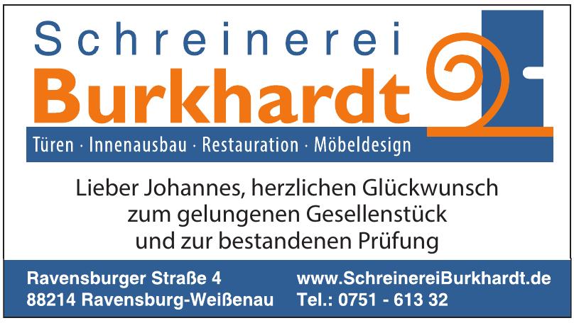Schreinerei Burkhardt