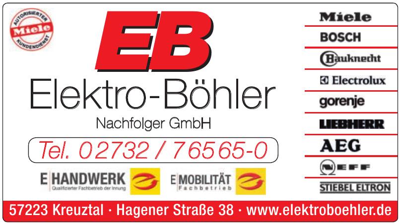 EB Elektro-Böhler Nachfolger GmbH