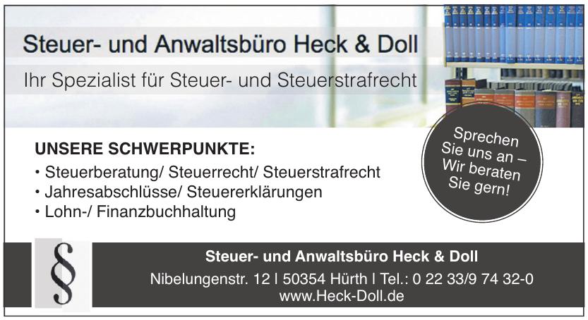 Steuer- und Anwaltsbüro Heck & Doll