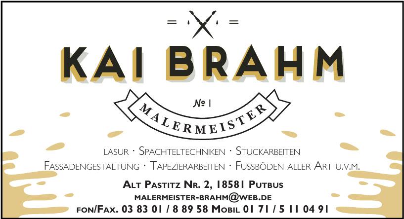 Kai Brahm Malermeister