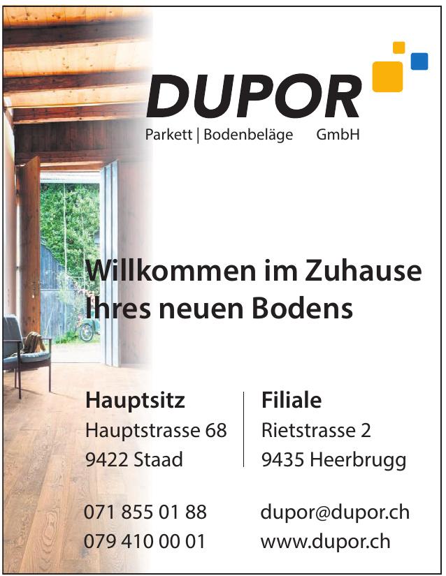 Dupor Parkett, Bodenbeläge GmbH