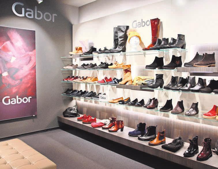 Schuh-Orlow: Nach mehr als 50 Jahren in modernen Räumen an neuem Standort in der Georgstraße.