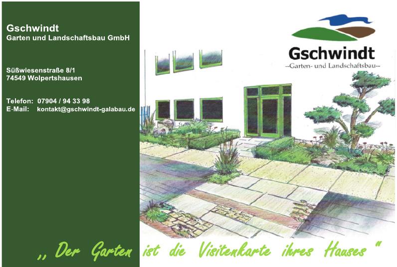 Gschwindt Garten und Landschaftsbau GmbH
