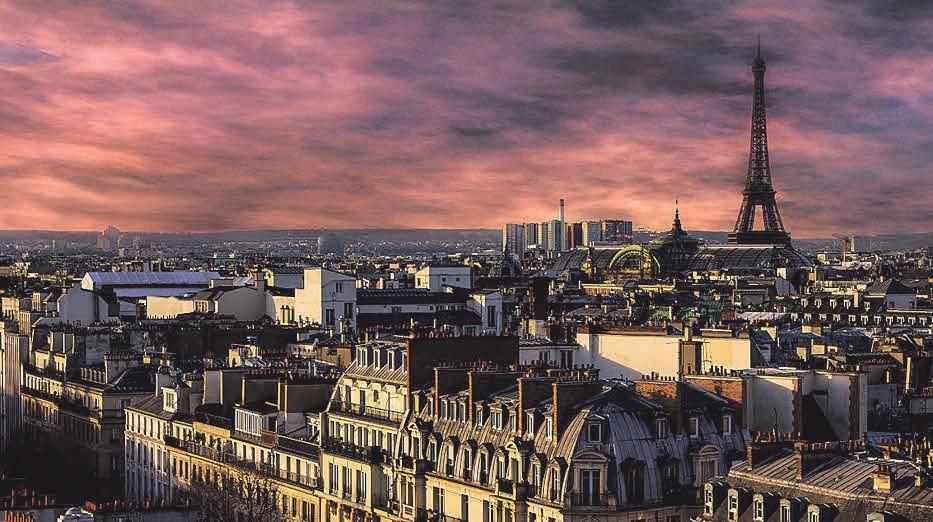 Ein Wochenendtrip nach Paris ist bei Paaren beliebt. Foto: Pixabay / edmondlafoto