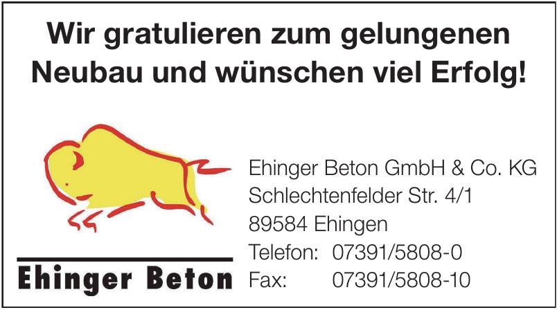 Ehinger Beton GmbH & Co. KG