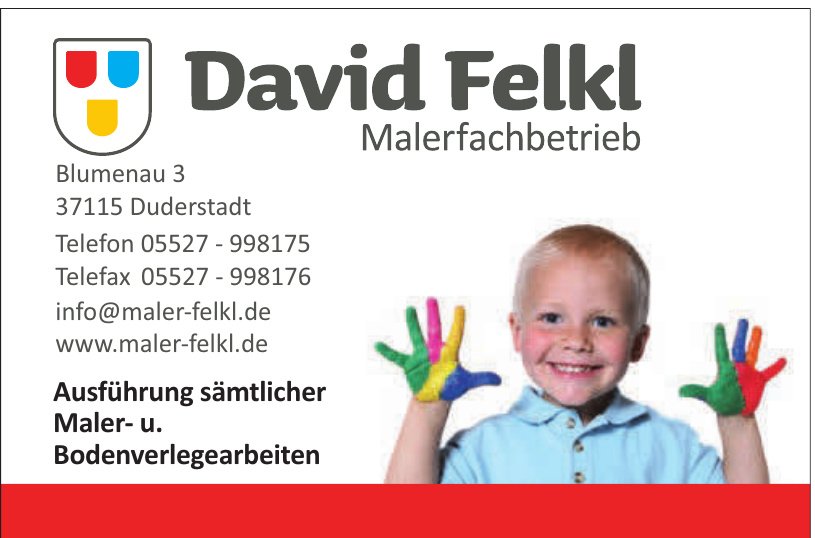 David Felkl Malerfachbetrieb