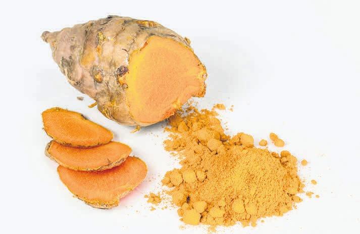 Der sogenannte Gelbwurz ist in Indien ein beliebtes Gewürz.