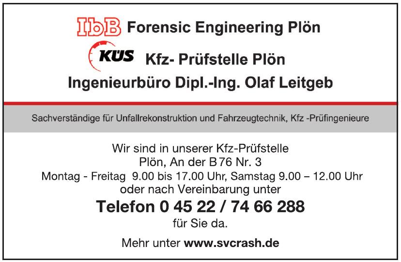 KÜS-Kfz-Prüfstelle Plön