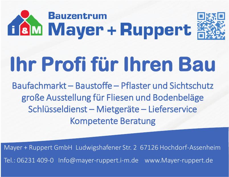Mayer + Ruppert GmbH