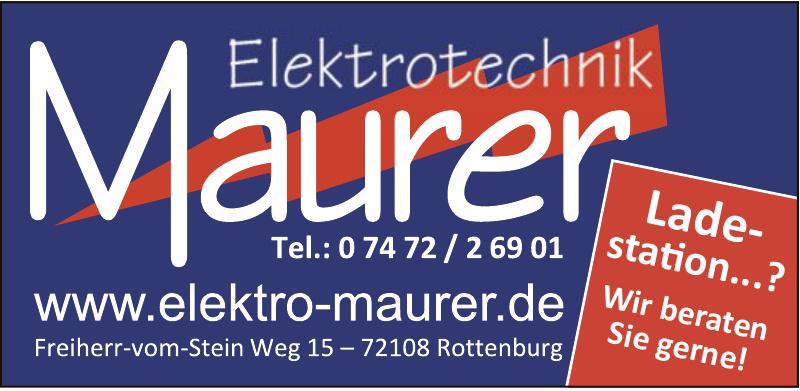 Elektro Maurer