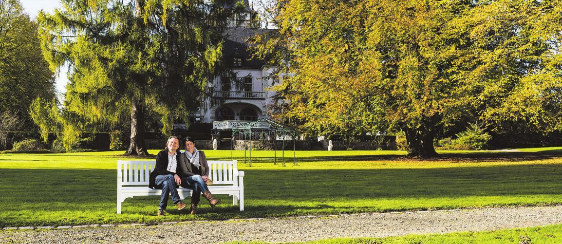 Idyllisch gelegen: der Schlosspark Tremsbüttel Foto: Tourismus-Management Stormarn/Tiemann