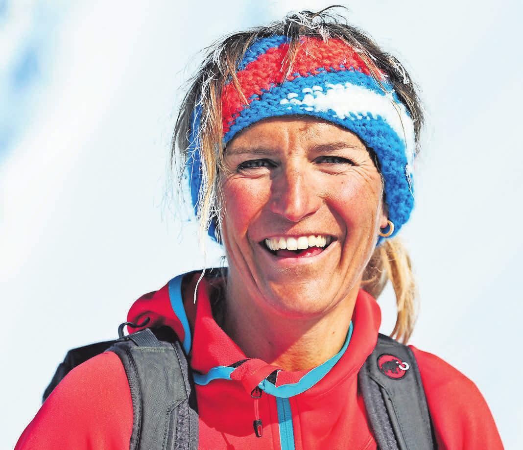 Abenteurerin, Grenzgängerin, Extrembergsteigerin: Evelyne Binsack spricht über Mut und Willensstärke.