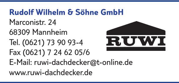 Rudolf Wilhelm & Söhne GmbH
