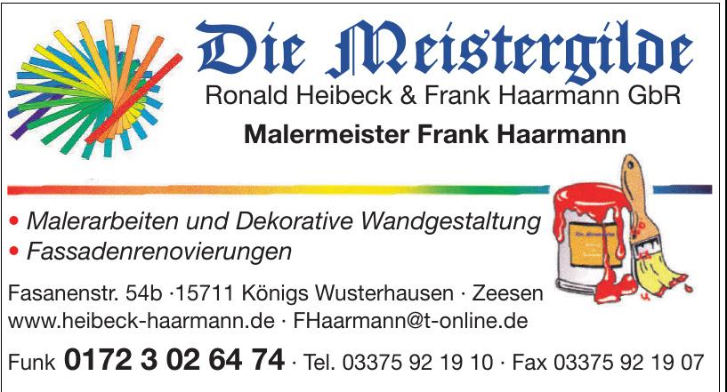 Die Meistergilde Ronald Heibeck & Frank Haarmann GbR