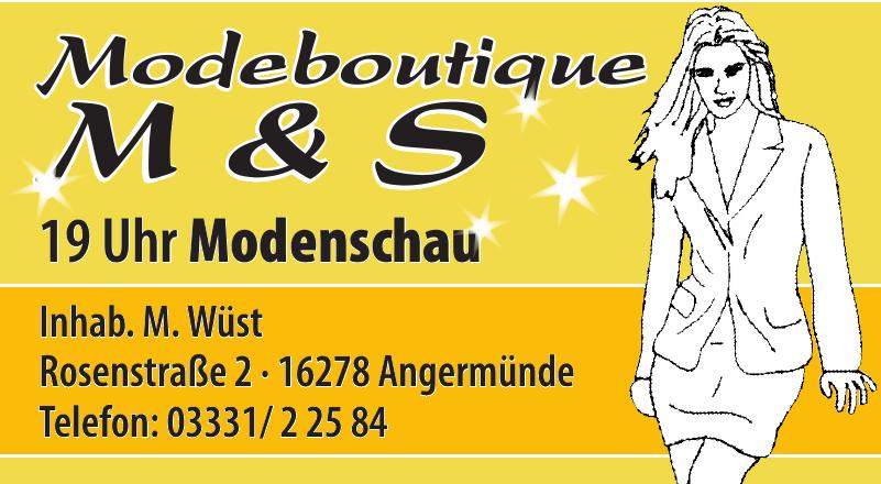 Modeboutique M & S