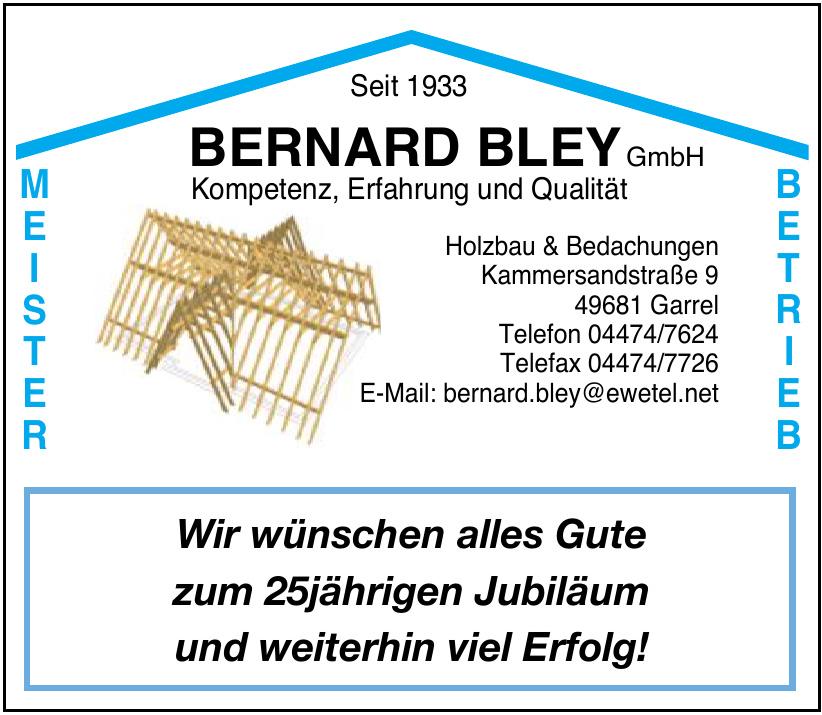 Bernard Bley GmbH Holzbau & Bedachungen