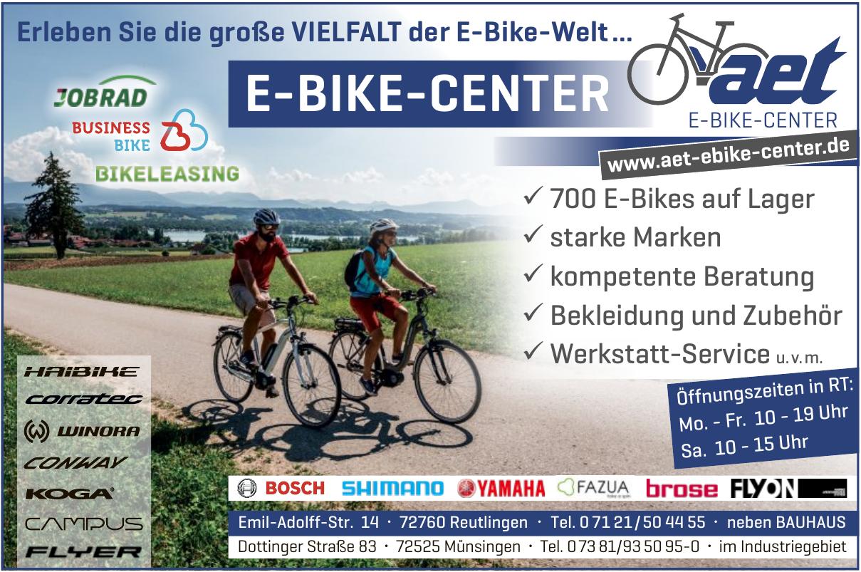 aet E-Bike-Center Reutlingen