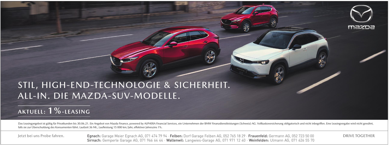 Mazda- Garage Meier Egnach AG