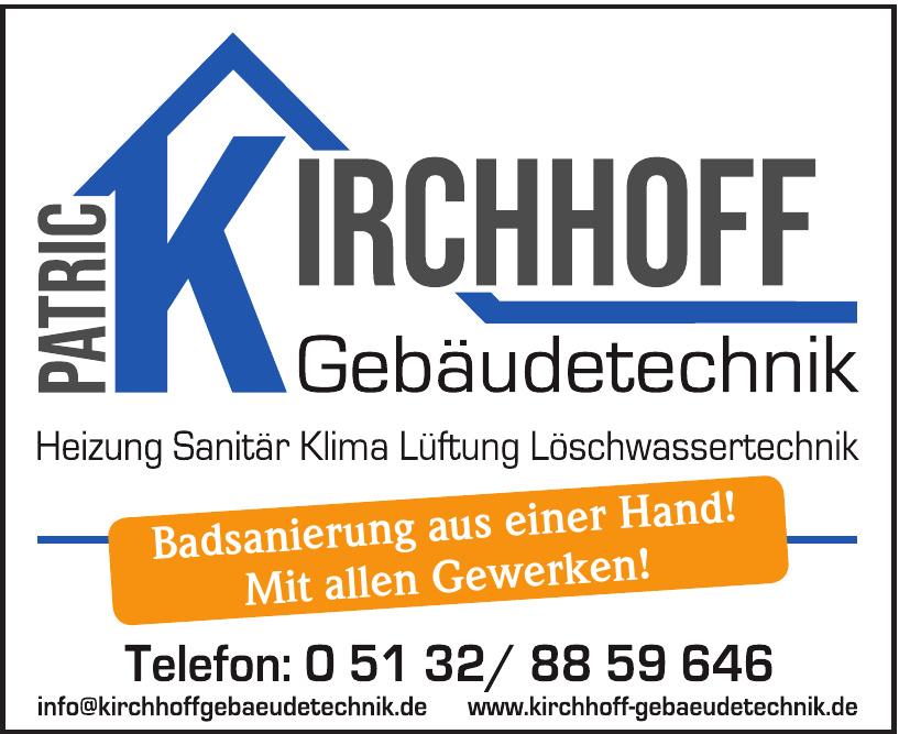Patric Kirchhoff Gebäudetechnik