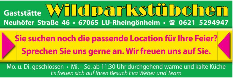 Gaststätte Wildparkstübchen