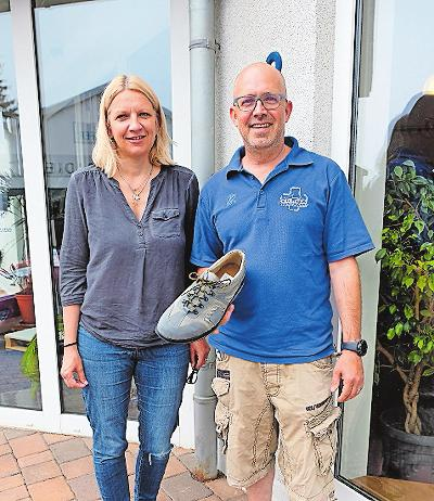 Orthopädieschuhtechnik und Sanitätsfachhandel: Jürgen und Bettina Wilhelm. FOTO: TKN