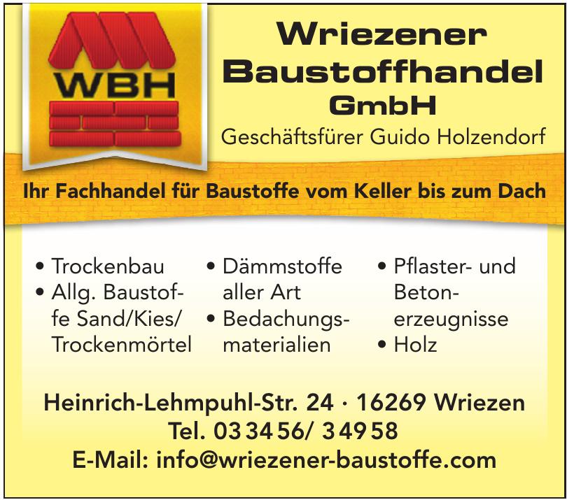 Wriezener Baustoffhandel GmbH