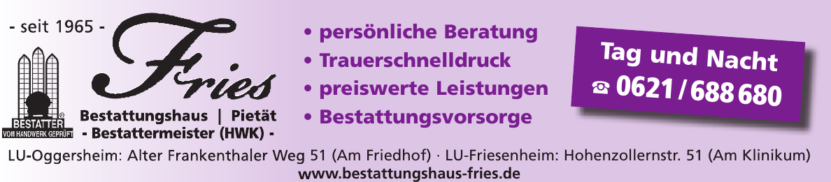 Bestattungshaus Fries
