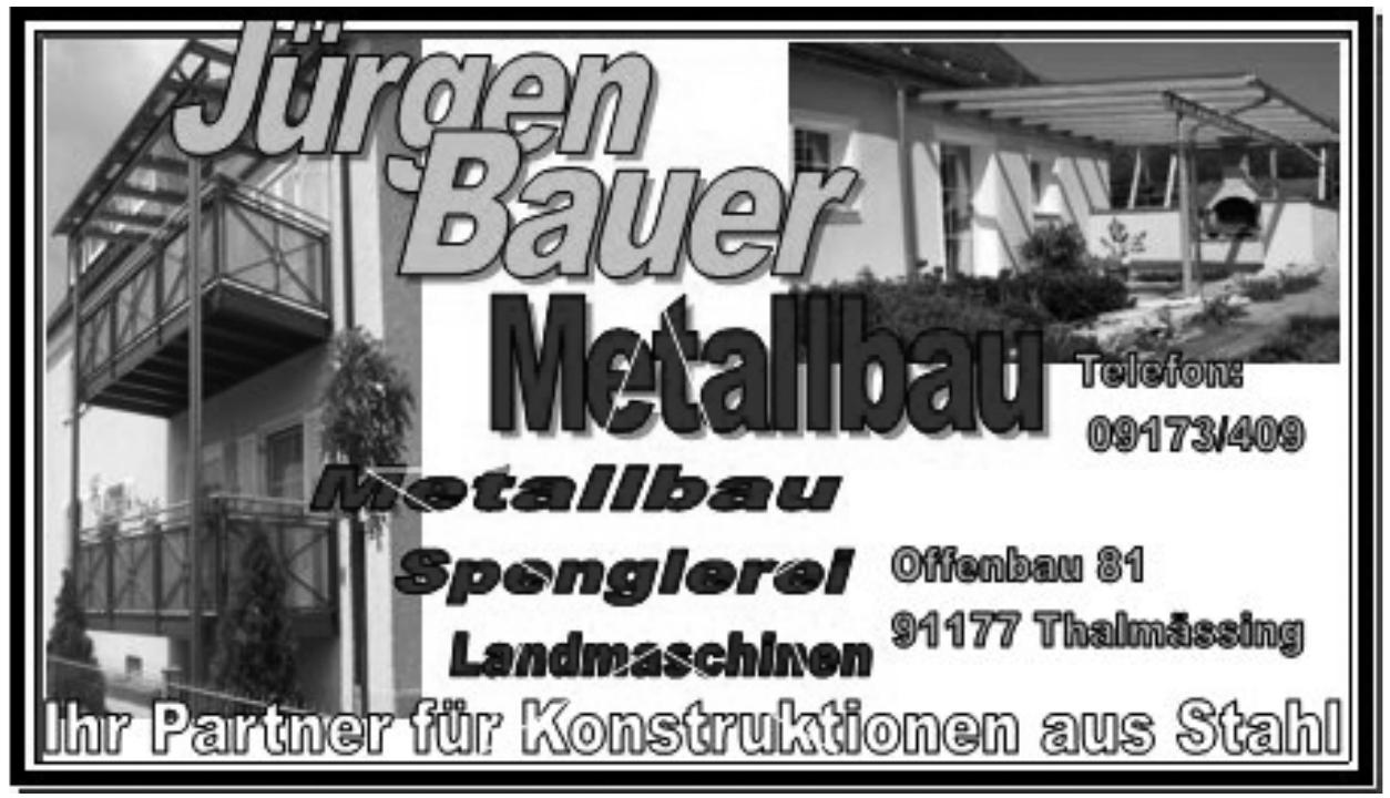 Jürgen Bauer Metallbau
