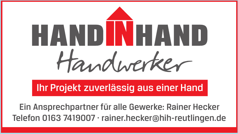 Hand in Hand Handwerker
