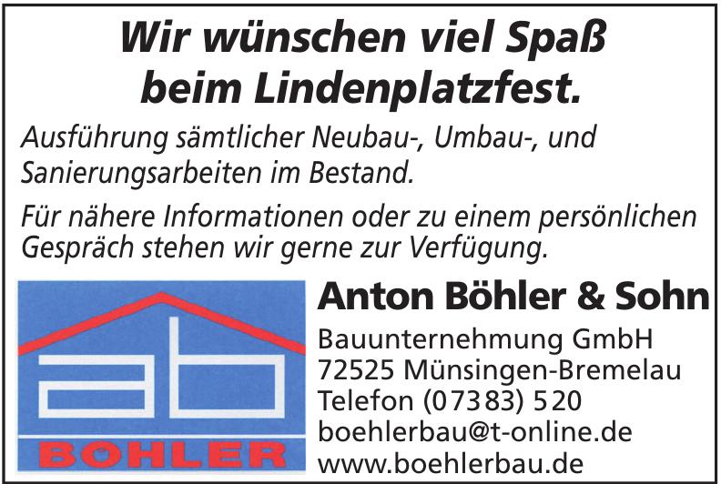 Anton Böhler & Sohn Bauunternehmung GmbH