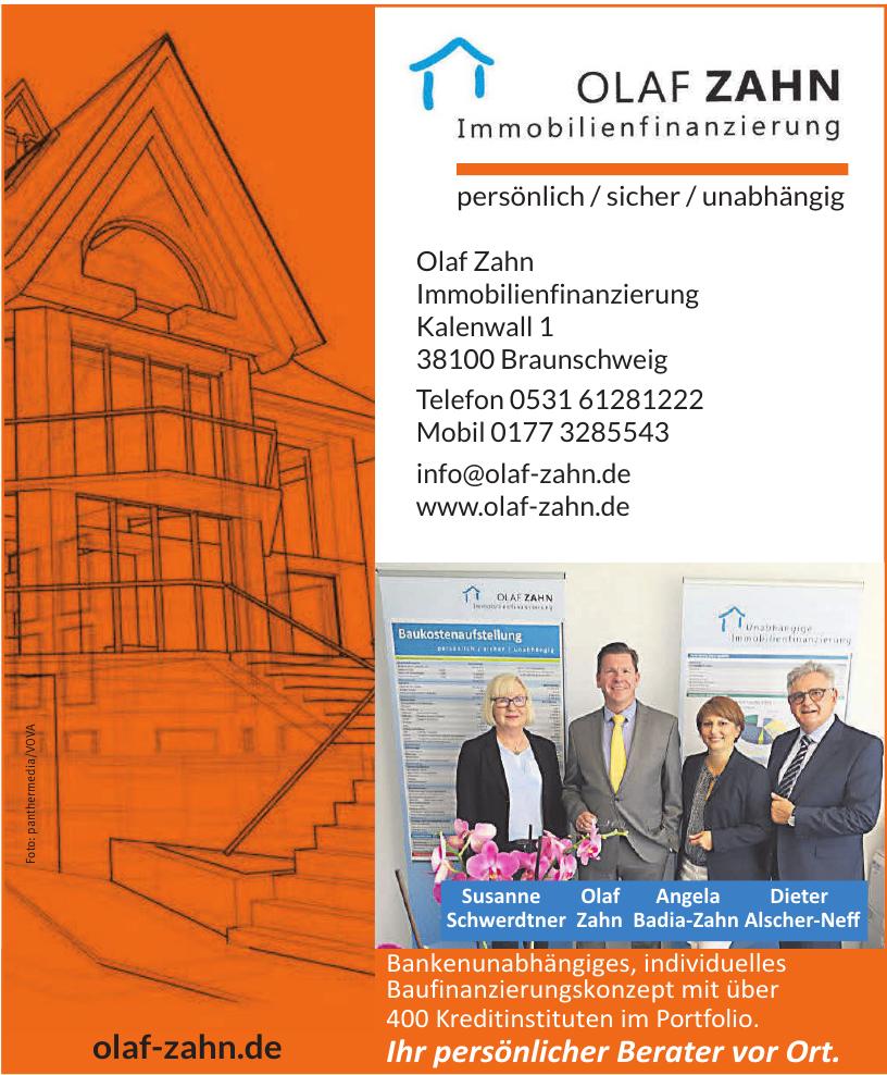 Olaf Zahn Immobilienfinanzierung