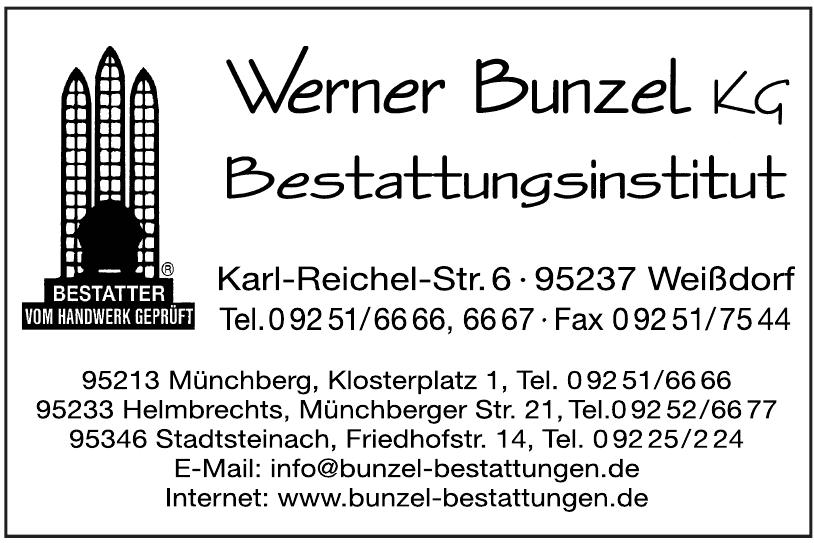 Bestattungen Werner Bunzel KG