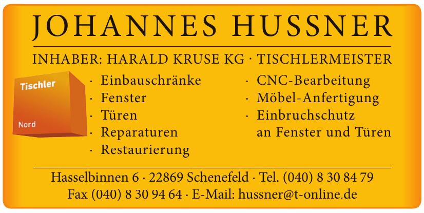 Johannes Hussner