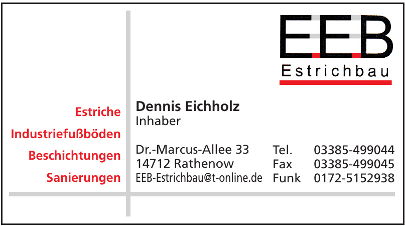 EEB-Estrichbau