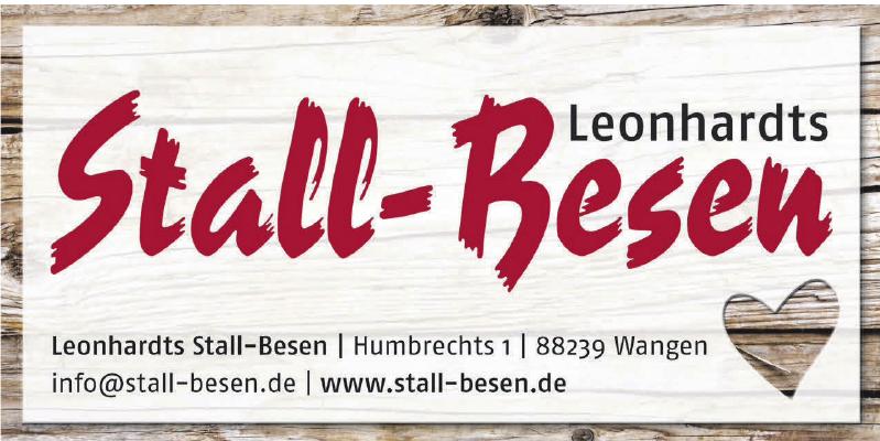Leonhardts Stall - Besen