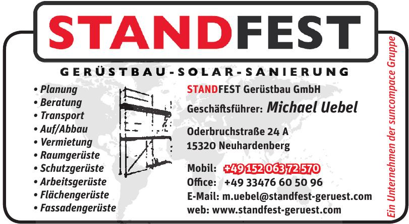 STANDFEST Gerüstbau GmbH