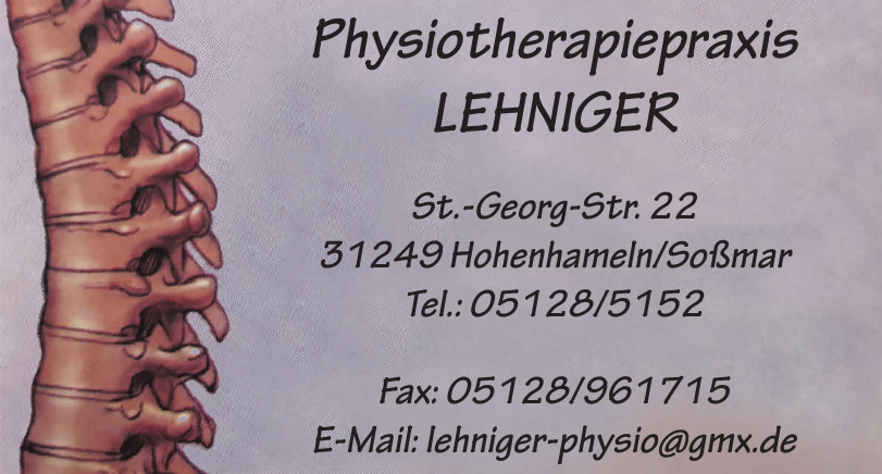 Physiotherapiepraxis Lehniger